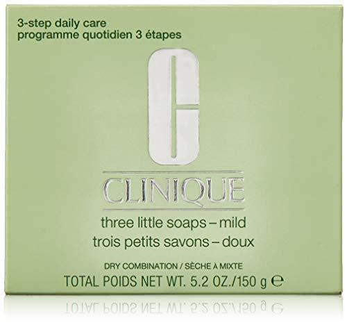 CLINIQUE Gesichtsseife 3er Set Dry (3 x 50 Gr)