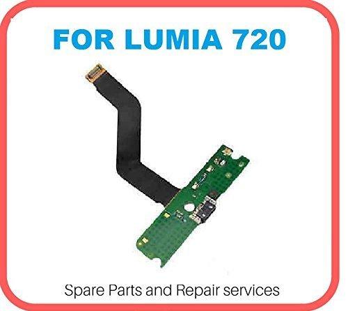 Hukato Charging Board Flex Cable Ribbon Connector Compatible for Nokia Lumia 720