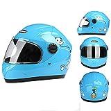 Motocicletta sportiva per bici casco per bambini casco per bambini casco da equitazione multimodale fodera in rete assorbimento dell'umidità e comfort del sudore - 1