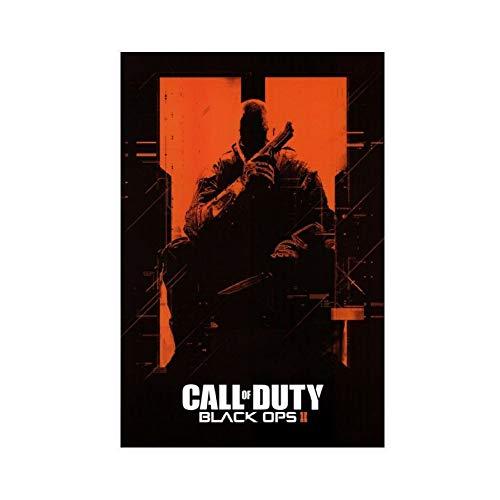 Póster de juego de Call of Duty Black Ops 2 en lienzo para decoración de la pared, para sala de estar, dormitorio, 30 x 45 cm, estilo unframe-1