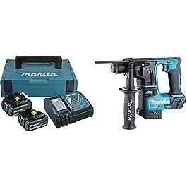 Makita Pack énergie Coffret Makpac + 2 Batteries 18V 5Ah Li-ION + Chargeur DC18RC 197624-2 & Batterie Makita Marteau…