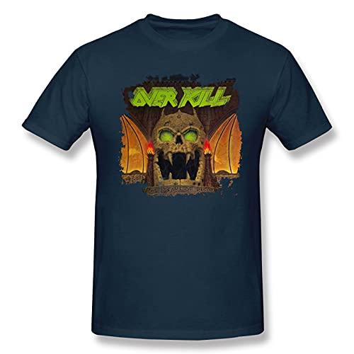 Overkill The Years of Decay - Camiseta básica de manga corta para hombre, color negro
