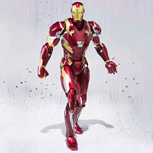 XVPEEN Modelo Marvel Captain America: Civil War Iron Man Mk46 15Cm Modelo De Personaje Animado