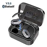 Écouteurs Bluetooth 5.0 Oreillette Bluetooth Sport sans Fil 35 Heures Playtime Hi-FI...