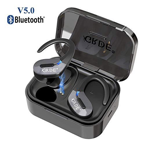Wireless Headphones Bluetooth 5.0 True Wireless Earphones 35H Playtime Built-in...