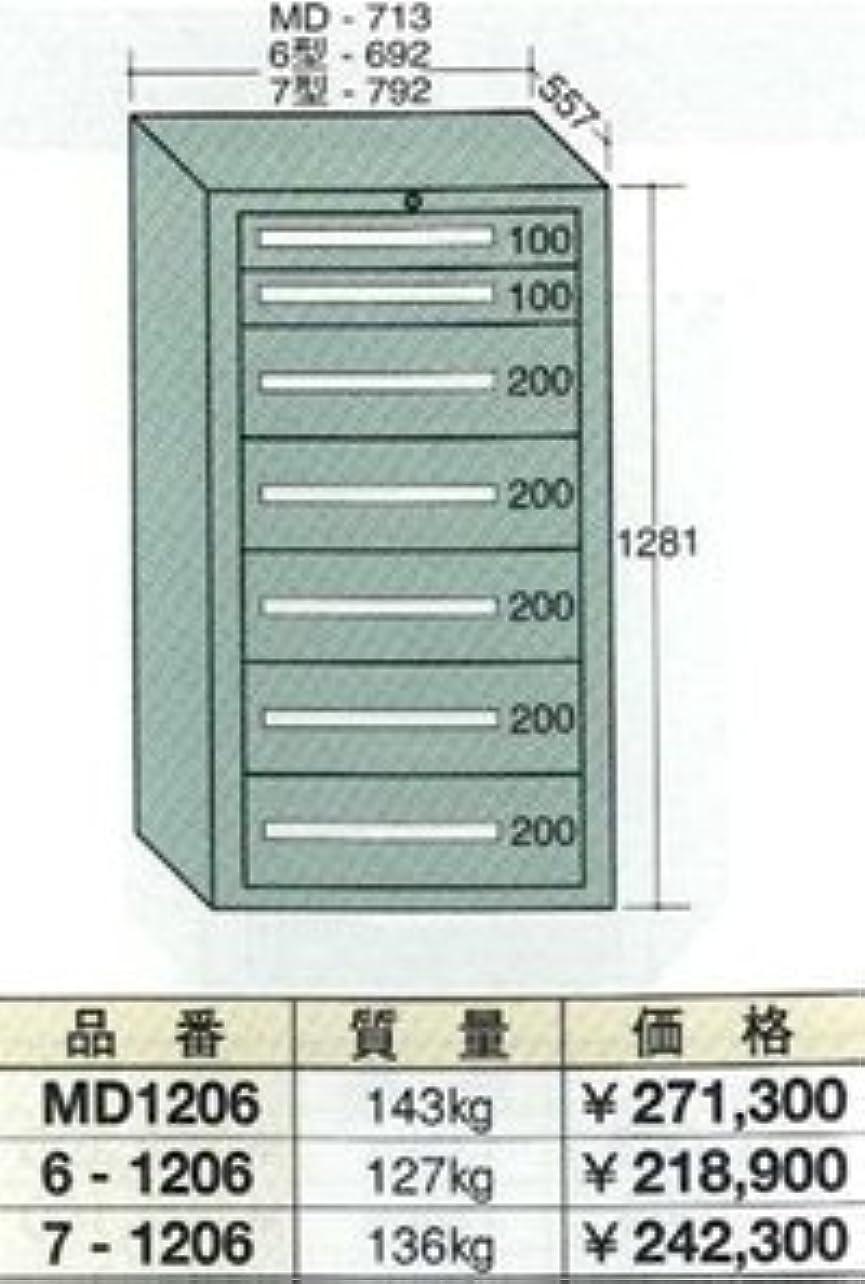 先駆者前投薬卵OS(大阪製罐) ミドルキャビネット MD1206