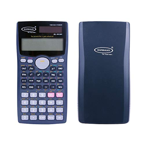 Bambalio BL-991MS 401 Functions and 2 Line LCD Display Scientific Calculator 3 Years Warranty