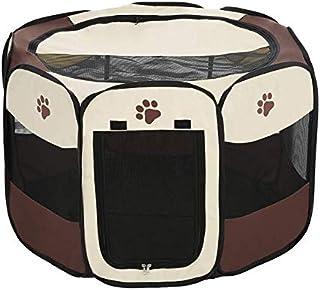 Mumoo Bear Portable Folding Indoor Outdoor Pet Puppy Dog Cat Play Pen Tent Pop-up Fabric Zipped Pet Rabbit Pig Exercise Pe...