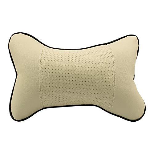 MDHANBK Almohada para el cuello del coche, 2 unidades de almohada universal para reposacabezas de coche, accesorios para asiento de coche, reposacabezas y cuello