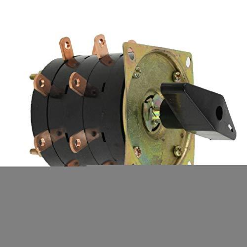 Aexit AC 380V 40A 8 Abschnitt 18 Pins Schweißgerät - Kombinationsschalter (b6082488d73b354da99b7bae4377b525)
