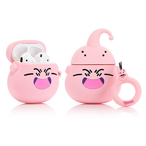 ZAHIUS Airpods Silicone Case Funny Cover Compatible for Apple Airpods 1&2 [Cartoon Pattern][Best Gift for Girl Boy](Dragon Ball Buu)