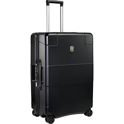 Victorinox Lexicon Hardside Medium 8-Wheel Travel, Black