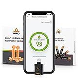Bundle & Save Dario Diabetes Blood Glucose Meter Kit. Test Blood Sugar Estimate A1c. All-in-One Smart Blood Sugar Monitor + 125 Strips + 110 Sterile lancets (iPhone Only)