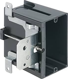Arlington Industries FA101 1-Gang Adjustable Outlet Mount Box, 25-Pack