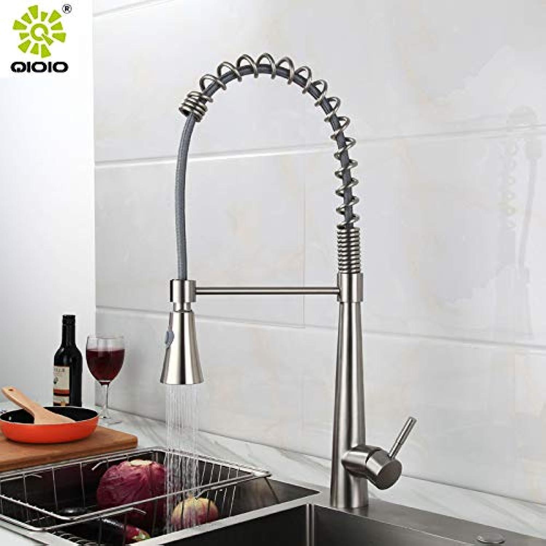 PajCzh Badezimmer Fixturesstainless Stahl Becken Wasserhahn_304 Küche Pull Becken Wasserhahn Warmes und kaltes Wasser mischen Guangdong Hohe Qualitt Hersteller