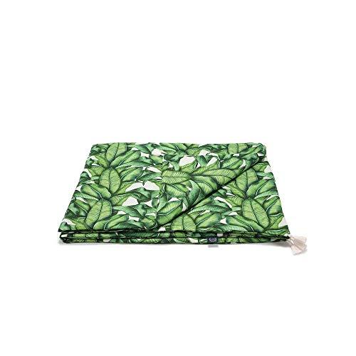 La Millou Bambus-Bettwäsche, mittelgroß, Bananenblätter