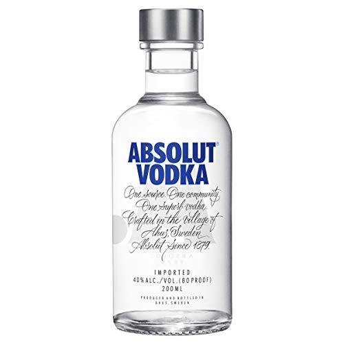 Vodka Absolut Natural 200 Ml