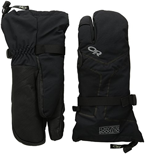 Outdoor Research Highcamp 3 Finger Gloves black S