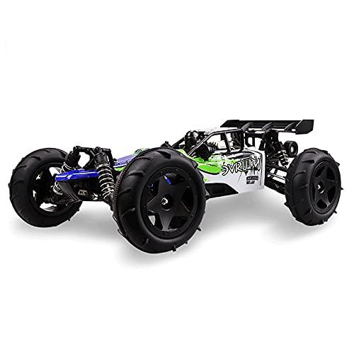 KGUANG Suspensión Drift Bigfoot 1: 12RC Coche 4WD Alta Velocidad 2.4G Control Remoto Competición Camión Aleación Anticolisión Escalada Buggy Navidad Juguete para niños Vehículo de Regalo