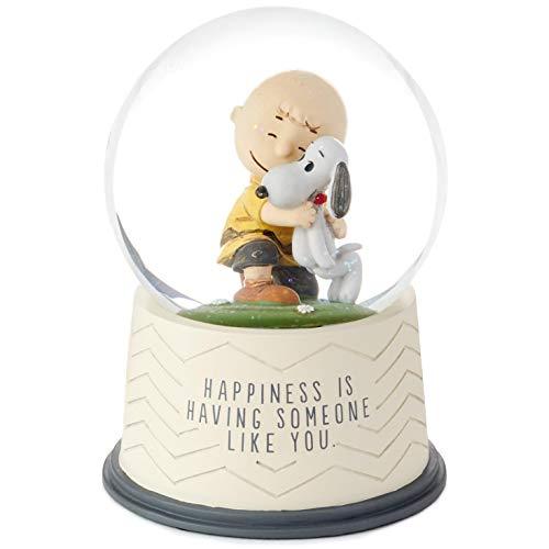HMK Hallmark Peanuts Happiness is Someone Like You Snow Globe