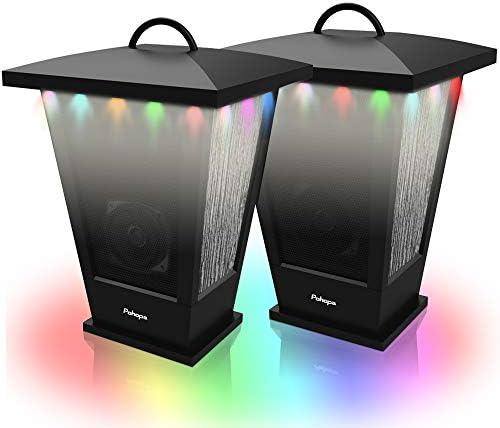 Bluetooth Speakers Waterproof Pohopa 2 Packs True Wireless Stereo Sound 20W Speakers Dual Pairing product image