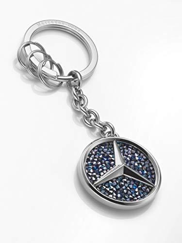 Mercedes-Benz Collection Schlüsselanhänger St. Tropez | Schlüsselanhänger mit Mercedes Logo und Swarovski Crystal Fine Rocks | Made by Swarovski for
