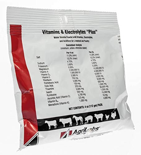 Vitamins & Electrolytes Plus 4oz by Agrilabs