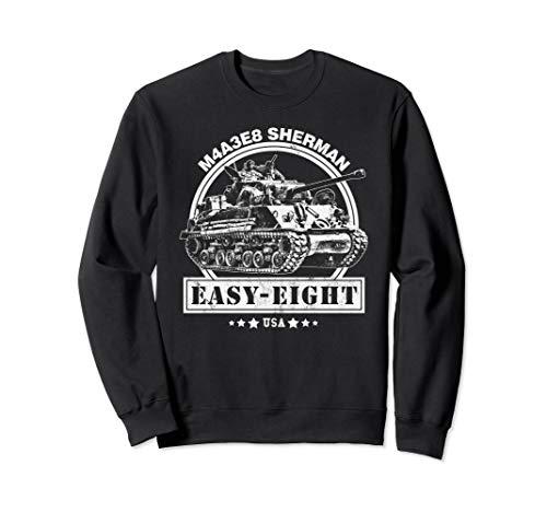 M4A3E8 Sherman Panzer Sweatshirt