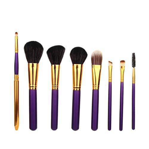 WNNZJHL Pinceaux de Maquillage Set Powder Foundation Pinceau à lèvres Fard à paupières