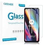 GEEMEE Protector de Pantalla para Moto g 5G Plus, Cristal Templado Película Vidrio Templado 9H Alta Definicion Glass Screen Protector Film Clear -2 Pack