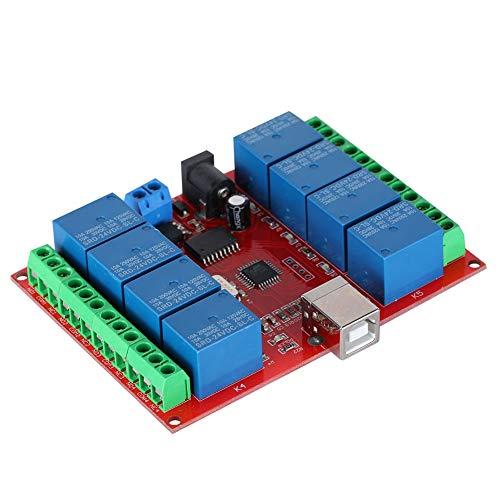 Nicoone Controlador inteligente de 24 V, 8 canales, 10 A, módulo de relé, conmutador, tarjeta de ampliación para tecnología oculta, Plug and Play