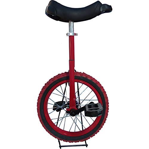 Concorrenza Bilancia del monociclo robusto 16 pollici Unicycles per principianti / adolescenti, con impermeabile impermeabile pneumatico per pneumatici ciclismo sport esterno sport fitness salute
