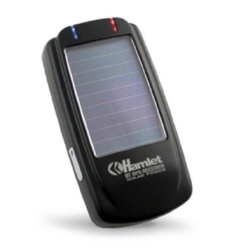 Hamlet HBTGPSOL BT Solar GPS Bluetooth GPS Receiver - Navegador GPS (importado)