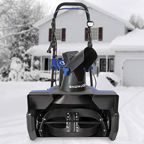 Snow Joe SJ625E Electric Single Stage Snow Thrower, 21-Inch, 15 Amps