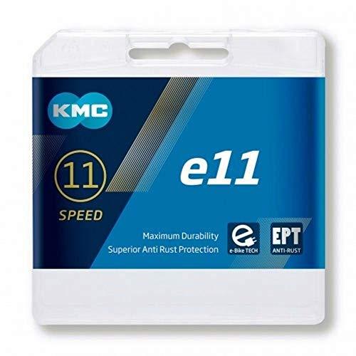 KMC Chaîne 11 Vitesses - x 11 E - Pagination - Anti Rouille - 118 GL. - pour E-Bike