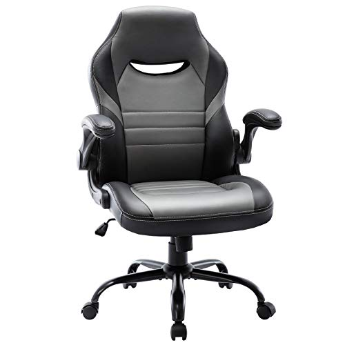Flip Up Gaming Chair - Computer Chair Ergonomic Adjustable...
