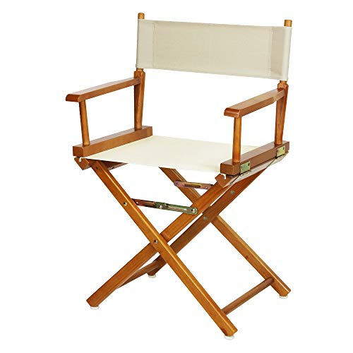 Casual Home 18' Director's Chair Honey Oak Frame with Wheat Canvas