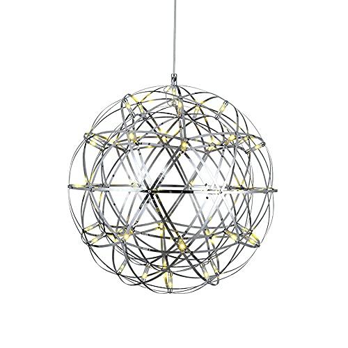 SDFDSSR Lámpara Colgante De Personalidad Y Creatividad Lámpara Colgante De Hierro Forjado con Una Sola Cabeza Lámpara Colgante LED (Altura 20 Cm) Adecuado para Espacios Comerciales, Cafeterías