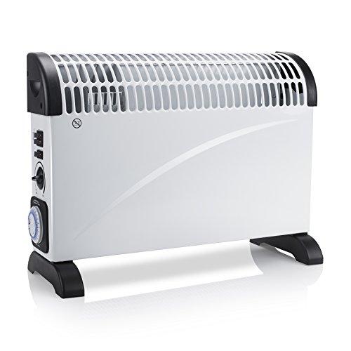 Tristar Elektroheizung mit Turbofunktion und Zeitschaltuhr, 2,000 W, 1 Stück, weiß, KA-5914