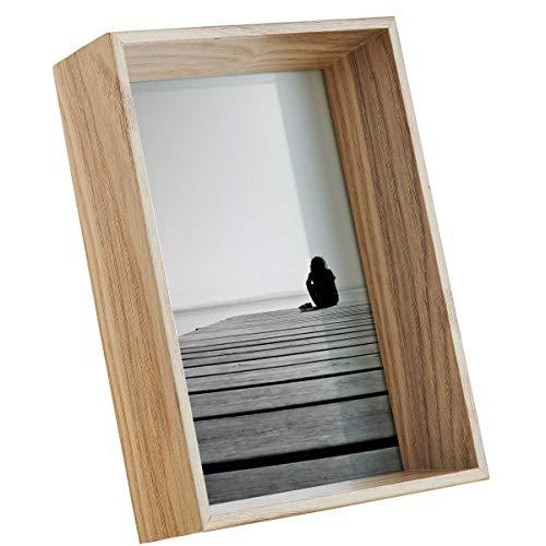 Butlers Picture It Bilderrahmen tief 11x16 cm - Holzrahmen aus MDF, Glas - Rahmen als Deko zum Aufhängen oder Aufstellen