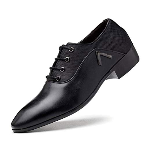 Feidaeu Herren Business Oxford Schuhe Mode Spitze Hochzeitskleid Schuhe formelle Schnürschuhe der Männer City Work Schuhe