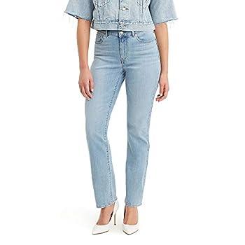 Levi s Women s Classic Straight Jeans Pants -Oahu morning dew 26  US 2  R
