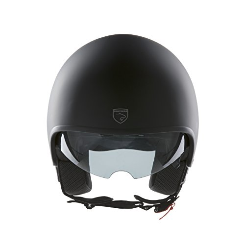 Panthera casco de moto full jet Vintage negro mate talla XS