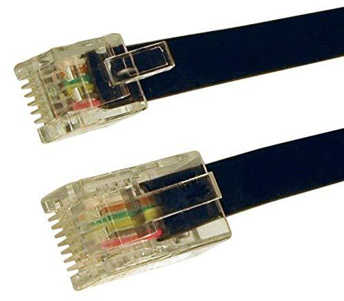 BROADBAND MODEM RJ45 TO RJ11 RJ12 6 pins kern LEAD KABEL 0.3m 0.5m 1m 2m 3m 5m