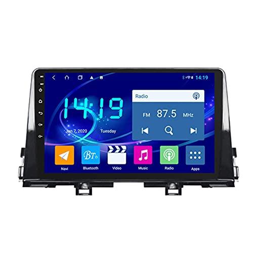 Autoradio Adatto per Kia Picanto 2016-2019 In Dash 9 Pollice Navigatore GPS Unità Testa Supporto USB SD DAB RDS Video Bluetooth WIFI SWC Specchio link Backup Camera 4 GB+64 GB