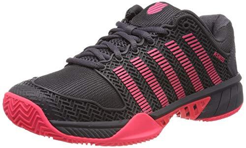 K-Swiss Performance KS Tfw Hypercourt Exp HB, Zapatillas de Tenis para Mujer, Blanco (Magnet/Pink 43), 37 EU