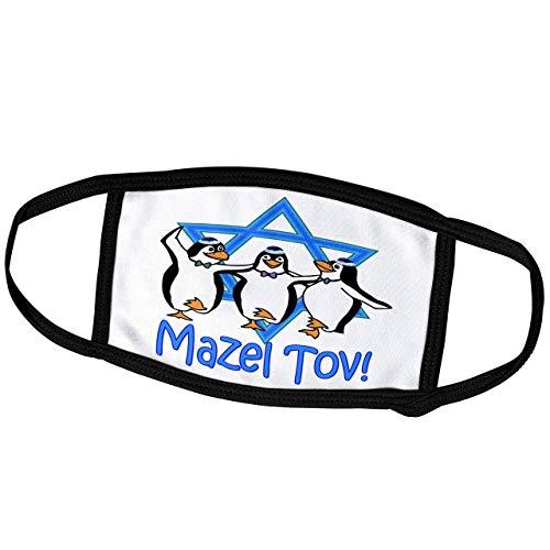 Promini Monatsmaske – RinaPiro – jüdische Zitate – Mazel Tov – Davidstern – beliebtesten jüdischen Spruch Israel – Staubmaske Outdoor-Schutzmaske