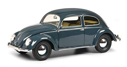 Schuco 450026000 - Modellino Auto in Resina, Scala 1:18, Edizione Limitata, Colore: Azzurro