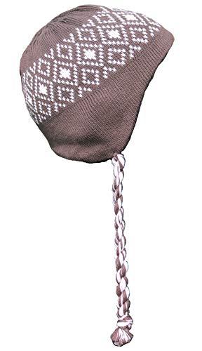 Döll Baby Wintermütze Strickmütze gefüttert Ohren verdeckend Mütze (741704738)...