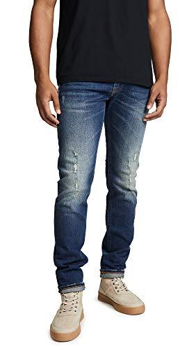 Diesel Herren Thommer Straight Jeans, Blau (01 Blue Denim 084yy), W31/L32